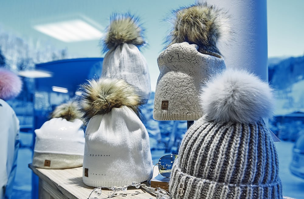 Modische Wintertrends